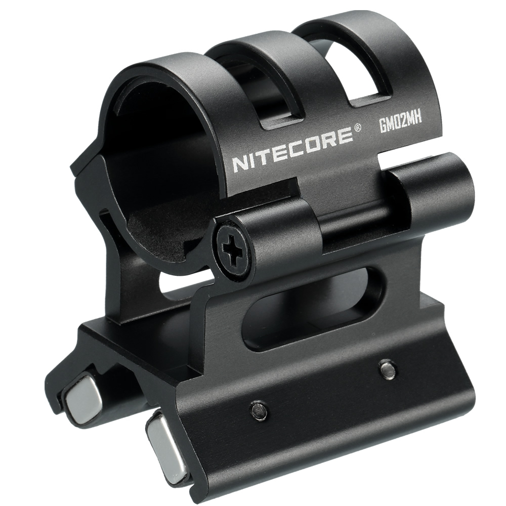 <font><b>NITECORE</b></font> GM02MH Magnetic Weapon Gun Mount 24~26mm Flashlight Accessories ALUMINIUM ALLOY Suitable MH27UV MH20 MH10 <font><b>SRT7GT</b></font> MH25GT image