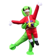 alien inflatable halloween costume party fancy dress suit costume alien clothing halloween funny for adult kids Halloween Alien Inflatable Costume Adult Children Halloween Performance Costume Party Costume