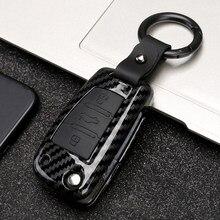 Copertura della cassa chiave dell'automobile dell'abs per Audi C6 A1 A3 C5 Q3 B6 B7 B8 A4 A5 A6 A7 A8 Q5 Q7 R8 TT S5 S6 S7 S8 SQ5 RS5 portachiavi conchiglia