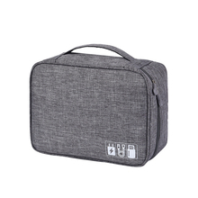 Large Travel Cable Bag Portable Digital USB Gadget Organizer Earphone Charger Wires Waterproof Zipper Storage Pouch kit Case
