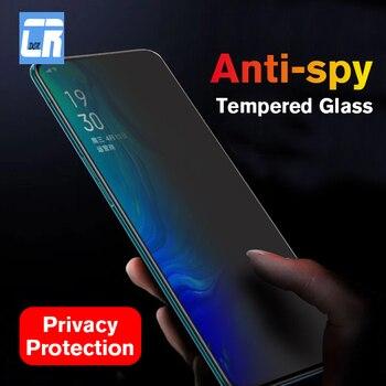Перейти на Алиэкспресс и купить 30D анти-шпионское закаленное стекло для OPPO Reno 2 Z K3 A1K F7 защита экрана конфиденциальности для OPPO Realme 3 F11 R17 профессиональная защитная пленка