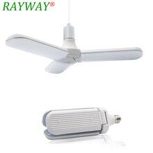 Светодиодная лампа SMD2835 E27 228LED s 60 Вт, складной потолочный светильник с регулируемым углом наклона вентилятора, домашнее энергосберегающее освещение