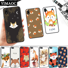 Lovely Cartoon Animals Fox Silicone Soft Case for Redmi 4A 4X 5 Plus 5A 6 Pro 6A 7 7A S2 Go K20 Note 5A Prime 8 ariana grande lovely cartoon silicone soft case for redmi 4a 4x 5 plus 5a 6 pro 6a 7 7a s2 go k20 note 5a prime 8