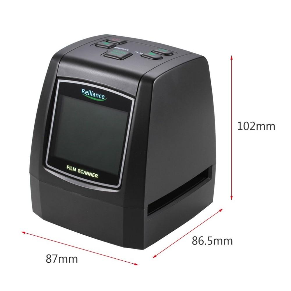 Negativo conversor Scanner de slides USB MSDC UE EUA plug