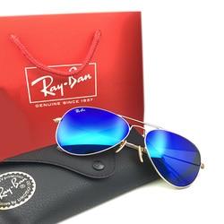 Rayban RB3025 Aviation Pilot Sunglasses Men and Women Polarized Mirror UV Fashion Classic Goggles For Driving Fishing Sunglasses