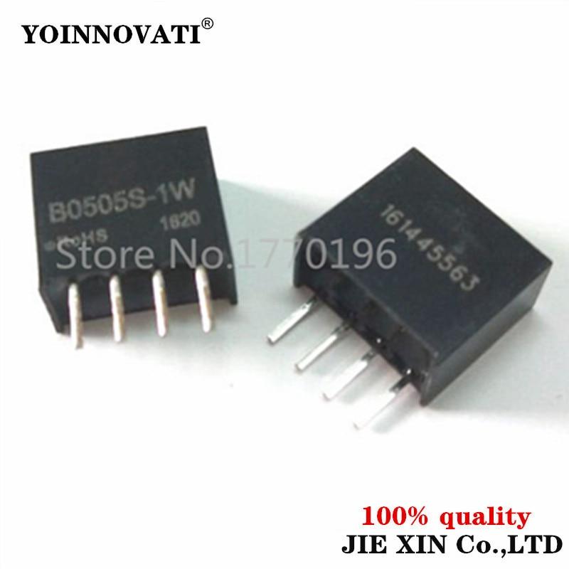 1 pces B0505S-1W 5 v a 5 v conversor dc módulo b0505s sip-4