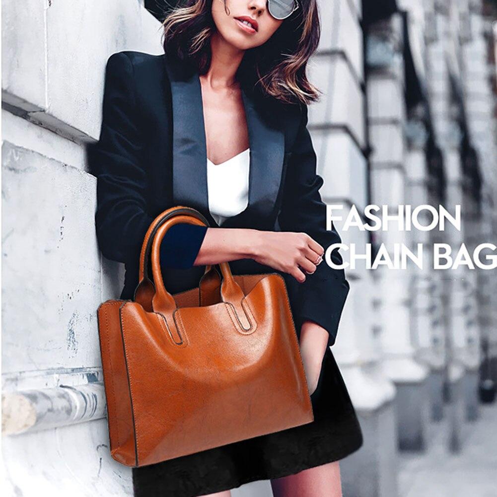 Fashion Crossbody For Women Large Capacity PU Leather Shoulder Bag Messenger Bag With Adjustable Strap C55