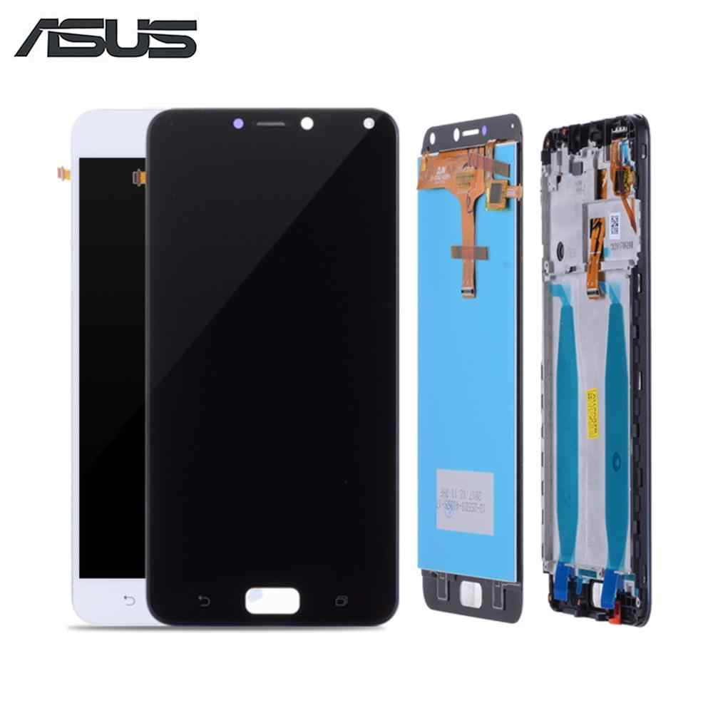 5.5'' Original LCD For ASUS Zenfone 4 ZC554KL Display Touch Screen Digitizer with Frame Replacement X001D For ZenFone 4 Max LCD