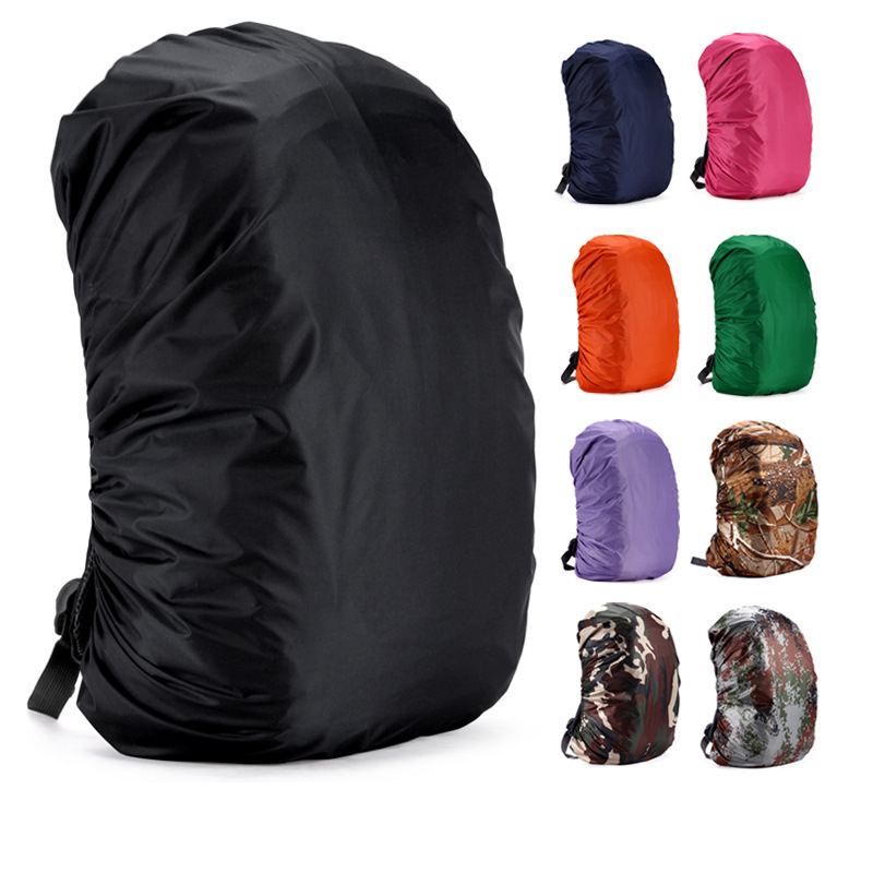 Portable Backpack Cover Waterproof, Dustproof And Rainproof Cover Backpack Travel Camping Field Mountaineering Bag