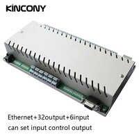 Módulo de automatización de domótica, controlador LAN Ethernet, relé IP, interruptor de Control remoto, sistema de seguridad Domotica Casa Hogar 32 Gang