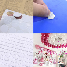 2 Sheets  Double Sided Round Balloons Glue Dot Stickers for Wedding Birthday Party Home Decoration Accessories Supplies