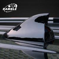 Shark Fin Antenna Cover Radio Car Aerial Auto Roof Antena Black White Accessories For Hyundai IX20 IX25 Creta Tucosan Venue Kona