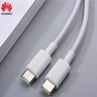 Origina Huawei 3,3 EINE Typ C Ladegerät Kabel PD Schnelle Lade Daten Linie Für Taube 40 30 pro Matebook E X Pro 13 Ehre Magicbook 14