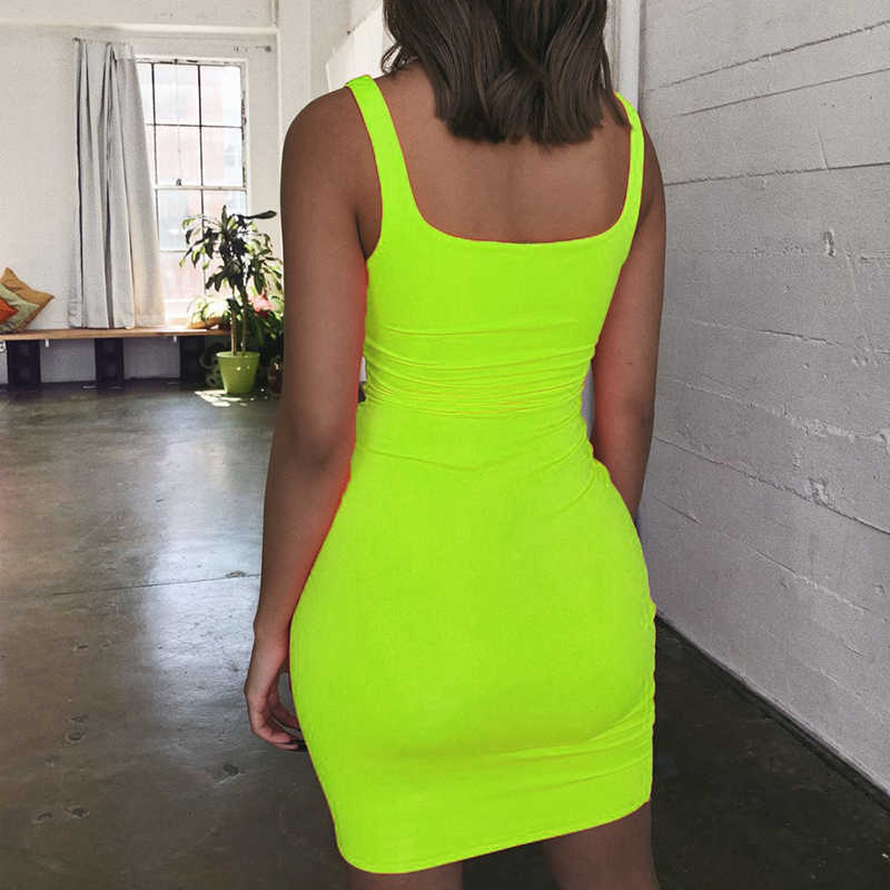 Off Schulter Mini Bodycon Sommer Kleid Frauen Backless Club Party Sexy Wrap Neon Kleid Plus Größe Vestidos drop verschiffen