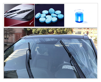 10PCS / pack car windshield wiper effervescent tablets clean solid for Mercedes Benz C350e A G500 ML EQA E43 CLA CLA45 image