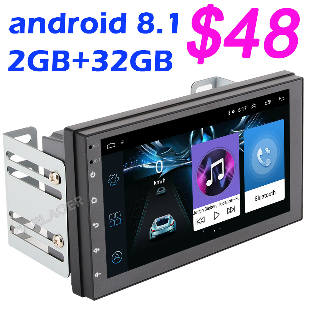 2 Din Android 8.1 Auto Multimedia Video Player 7