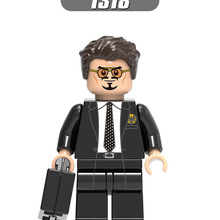 Одиночная совместимые Legoinglys Супер Герои фигурки Робер баннер Брюс Железный человек Hpward Старк блоки игрушки День рождения подарок X0264
