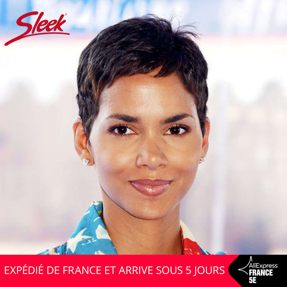 Sleek Short Human Hair Wigs Pixie Cut Wig 100% Remy Brazilian Hair Wigs Natural Wave 150% Density Short Wigs In French Fast