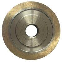 45 Degree Beveled Diamond Wheel 45° Sintered Diamond Grinding Wheel Table Shaped Machine Glass Portable Edger