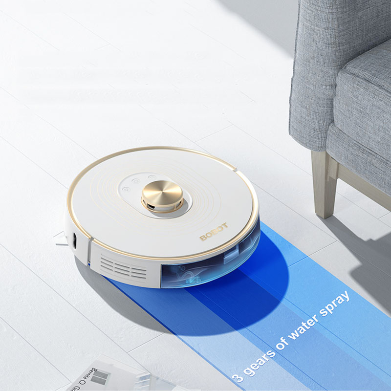 BOBOT NAVI 302 רובוט שואב אבק 2020 שדרוג 2700 PA יניקה רבת עוצמה 380 ml גדול אלקטרוניות מים טנק|שואבי אבק| - AliExpress
