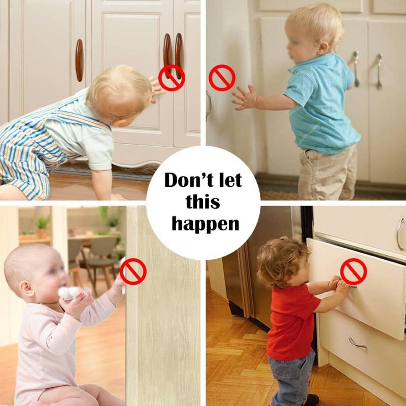 Cabinet Door Lock Child Protection Cabinet Door Drawer Magnetic Lock Multi-Function Baby Safety Lock