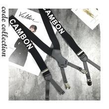 Shirt Suspender-Belt Fashon Clothes-Accessories Stay-Braces 6-Clips Vintage Women Letter