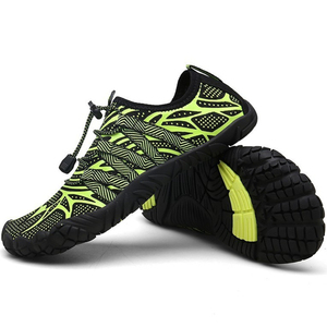 Image 3 - メンズ 5 指の靴裸足屋外スニーカー男性上流アクア靴夏水シューズの男速ドライ川海スリッパ