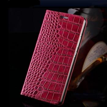 Genuine leather Flip phone case For Xiaomi Redmi note 9s 9 PRO 4X Note 8 T 7 crocodile texture Cover For Xiaomi mi 9 T MI 8 f2