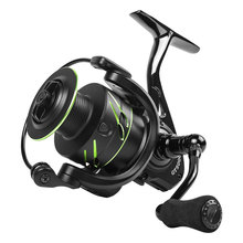 LINNHUE 13+1 bearing fishing reel long-distance wheel without gap spinning 2000-7000 series rod accessorry