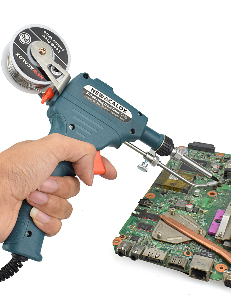 NEWACALOX Soldering-Iron Tin-Gun Internal-Heating Hand-Held Automatically 60W 110V/220V
