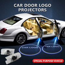 2pcs/lot For Lexus Welcome Light Car Door Logo Projector Shadow Lamp