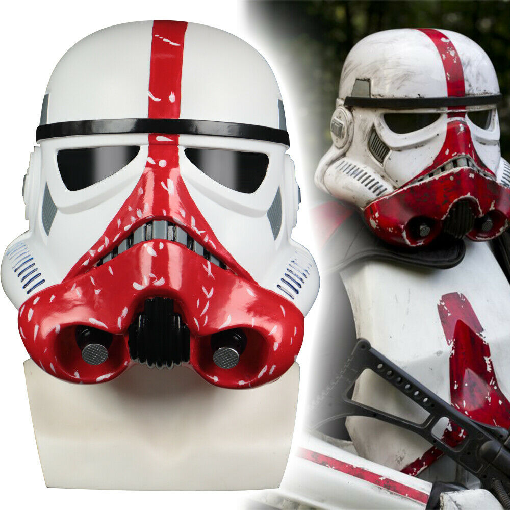 Star Wars Helmets The Black Series Incinerator Stormtrooper Cosplay Helmet Hard PVC Mask Star Wars Masks Props