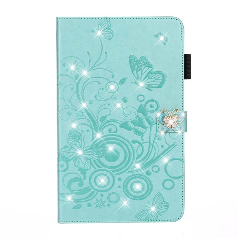 case Green Stand Flip PU Leather Capa Case For iPad 10 2 Case 2019 A2200 A2198 A2197 A2232