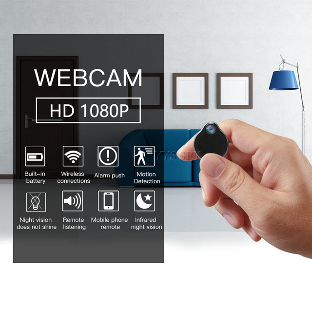 1080P Wifi Mini Camera Espia Water Droplets Style Magnetic Night Vision Motion Sensor HD Video Micro Cam Support Hidden TF Card