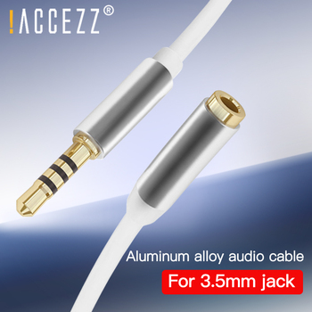 !ACCEZZ AUX Audio Cable Car Splitter USB for iPhone 11 Xiaomi 9 Samsung 2M 3M 3.5mm Jack Audio Cable Headphone Converter Adapter image