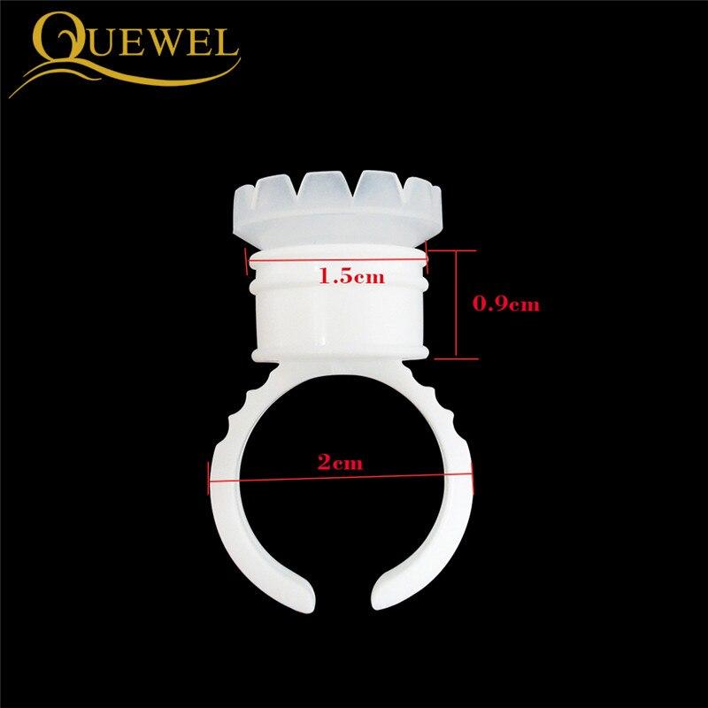 Eyelash Ring Individual Eyelashes Glue Holder Grafting Eyelashes Quick Blossom Glue Cup Ring Eyelashes Extension Adhesive Stand