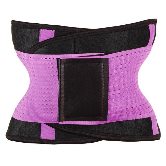 Slim Belt Waist Trainer Waist Shaper Cincher Faja Corset Belt Modeling Strap Waist Trimmer cinta modeladora shapewear 3
