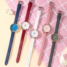 Big Sale Minnie Mouse Pretty Girl Fashion Casual Watches Female Leather Strap Wristwatch Women Quartz Clock Luxury Time Hot Hour