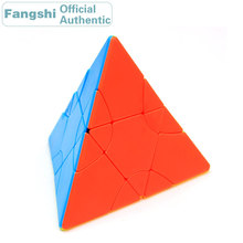 Fangshi F/S limCube 2x2x2 Transform Pyraminxeds Magic Cube Pyramid/Twin Tower/Hexahedral Rhombus/Octahedron Speed Puzzle Toys
