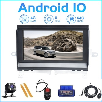 цена на ZLTOOPAI Android 10 Car Multimedia Player Radio For Land Rover Discovery 3 LR3 L319 2004-2009 Stereo GPS Navigation Head Unit