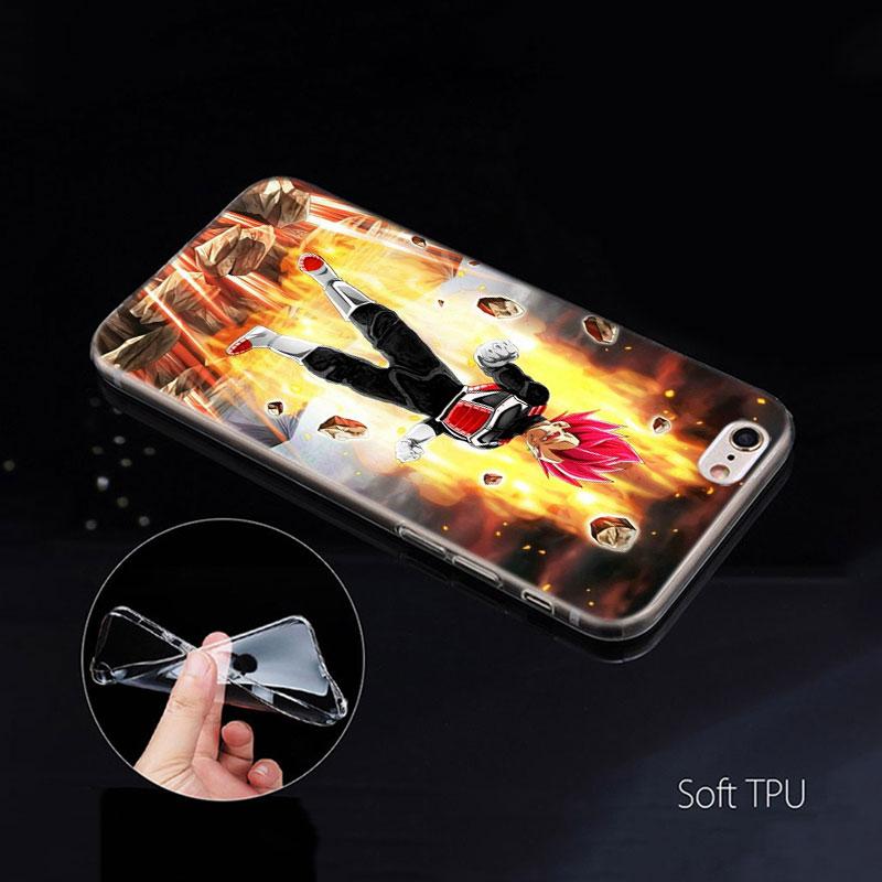 עבור apple דרגון בול Vegeta Case Comic עבור iPhone של Apple 11 Pro X XS מקס XR 7 8 6 6S פלוס 7S 5 S SE 5C Soft TPU Coque טלפון Carcasa Cover (5)