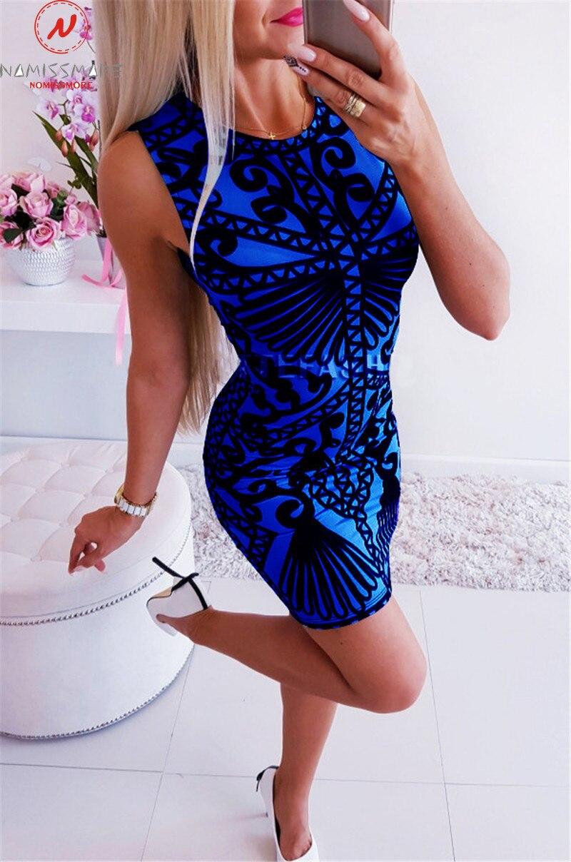 Элегантное офисное женское платье в стиле пэчворк с круглым вырезом, без рукавов, с принтом, платье карандаш, сексуальное женское летнее тонкое мини-платье