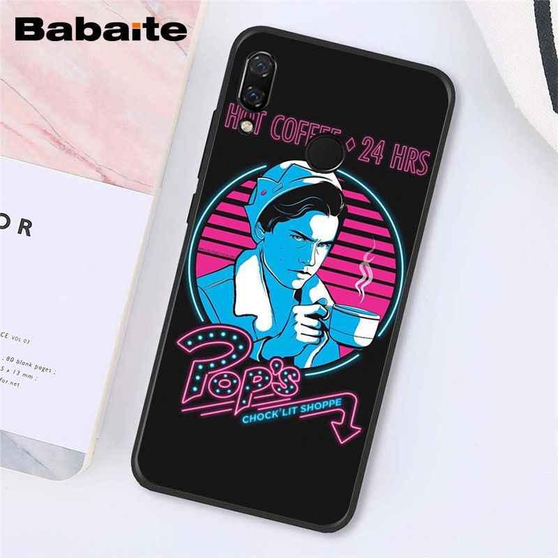 Babaite TV americana Riverdale Jughead Jones corona teléfono caso para Xiaomi Redmi4X 6A S2 ir Redmi 5 5Plus Note4 Note5 7 Note6Pro