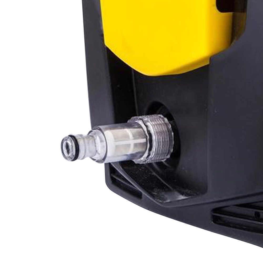 Yıkama aksesuarları filtresi harici su giriş somunu montaj evrensel meme konektörü araba temiz yüksek basınçlı bağlantı