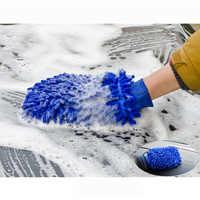 Einfach Mikrofaser Auto Küche Haushalt Waschen Waschen Reinigung Handschuh Mit Neue