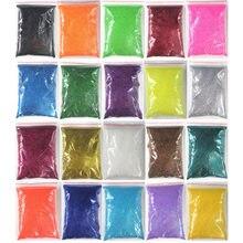 20 cores 10 g/saco gradiente prego pó holográfico cromo pigmento 0.2mm preto brilho fino brilho brilho do prego para manicure #5-6