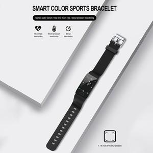 Image 5 - جديد سوار ذكي جهاز تعقب للياقة البدنية ضغط الدم مقاوم للماء سوار لياقة بدنية مراقب معدل ضربات القلب النشاط المقتفي SmartWatch الرجال