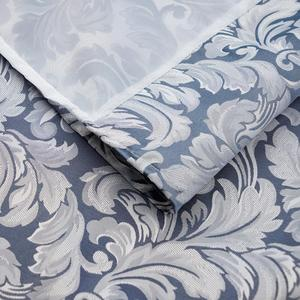 Image 4 - UFRIDAY Elegant Shower Curtain White Gauze Polyester Fabric Waterproof Bathroom Curtain Thick Jacquard Silver Grey Bath Curtains