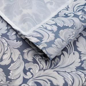 Image 4 - Usexta feira cortina de banho elegante, branco, gaze, poliéster, à prova dágua, grossa, jacquard, cinza, prata