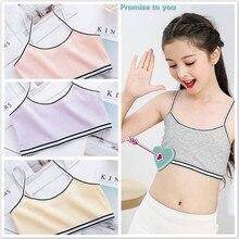 Sling Free-Underwear Teenage-Girl Cute Training-Bra Puberty Bralette Girls Cotton Soft